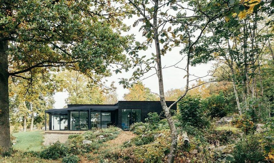 Villa G: Minimal Swedish Retreat Nestled in a Gorgeous Oak Forest