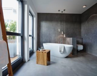 Adding Concrete to the Bathroom in Style: Modern Minimalism Unleashed!