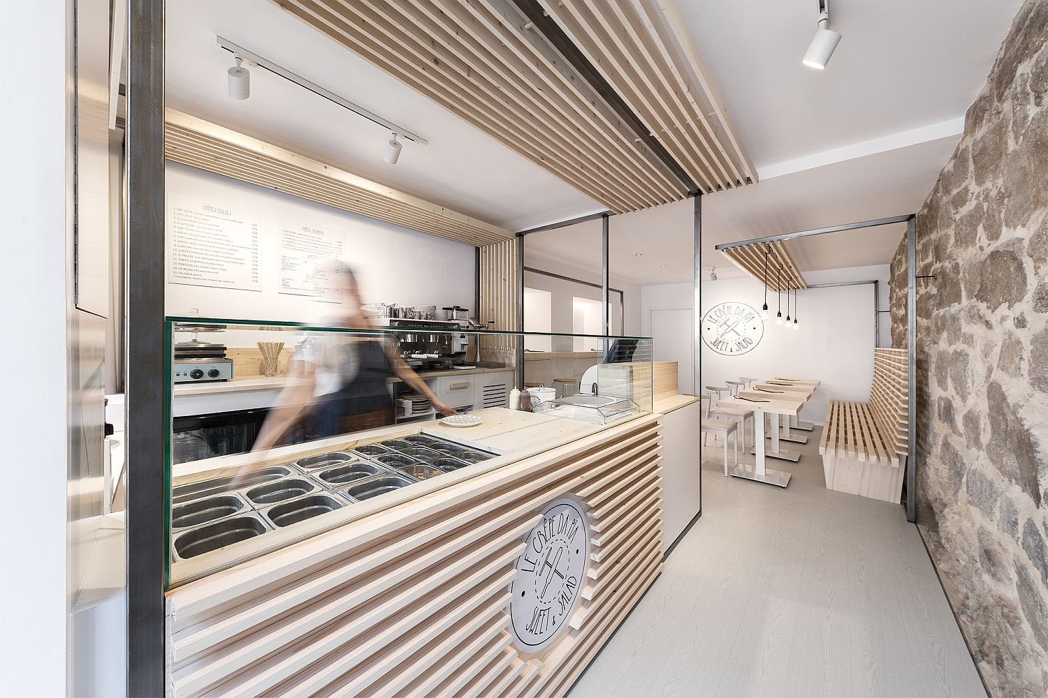 Contemporary eatout in Galicia, Spain with a classic modern style