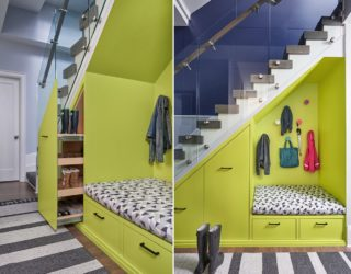 Unboxing Space: Innovative New Ideas Combine Storage with the Staircase