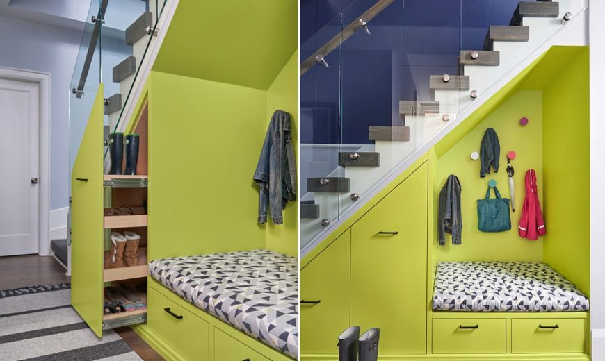 Space Saving New Ideas Combine Storage With The Staircase