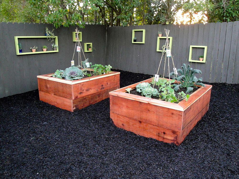 Creating the small and smart edible garden