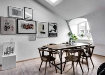 Gallery-wall-for-the-tiny-apartment-dining-area-with-Scandinavian-style-217x155