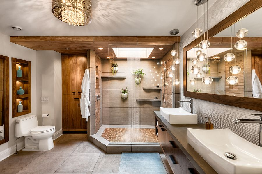 Tropical-bathroom-with-concrete-tiled-flooring