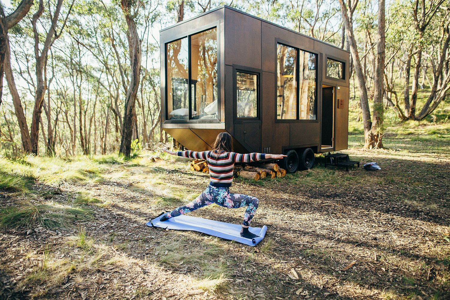 Australian tiny house that is sustainable and off-grid