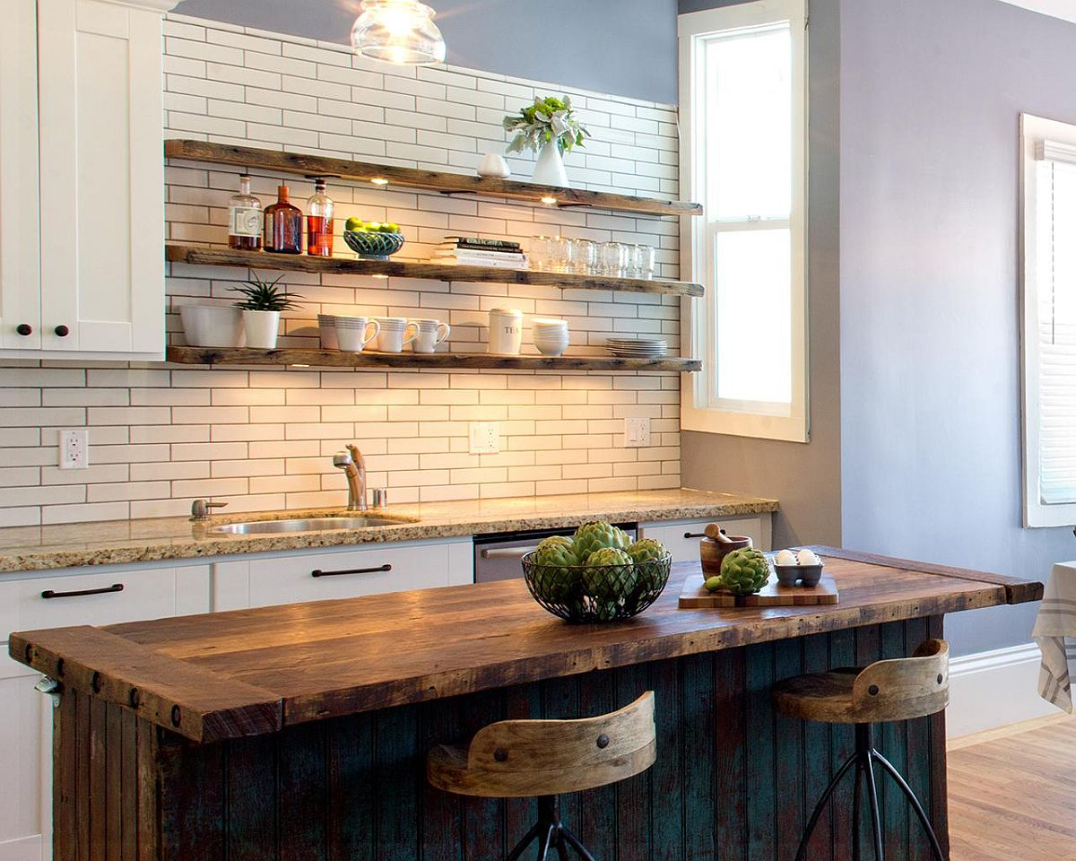 Beautiful-LED-lighting-adds-to-the-beauty-of-the-rustic-wooden-shelves