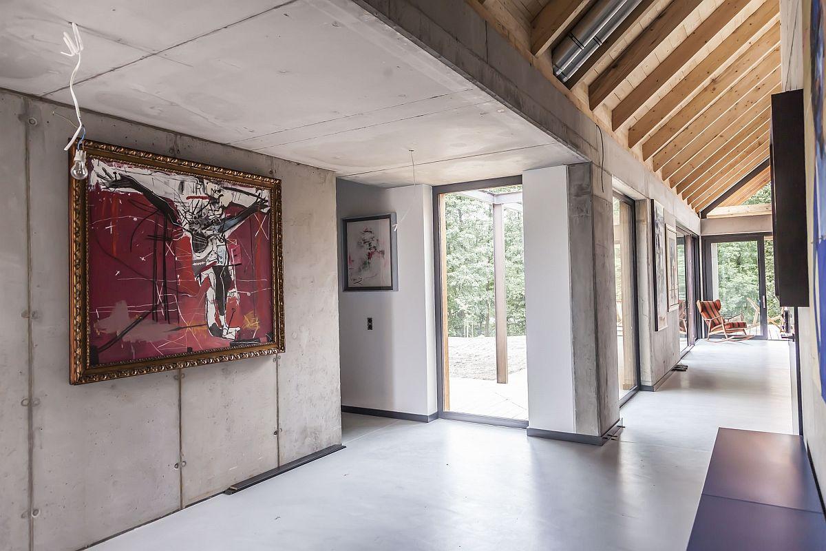 Brilliant wall art breathes life into the concrete walls