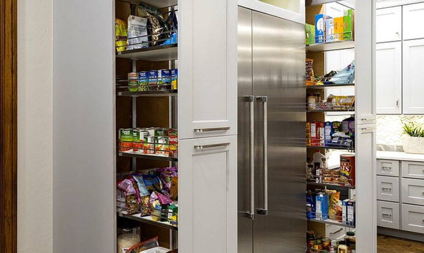 Finding the Right Pantry for your Kitchen: Styles, Size and Storage