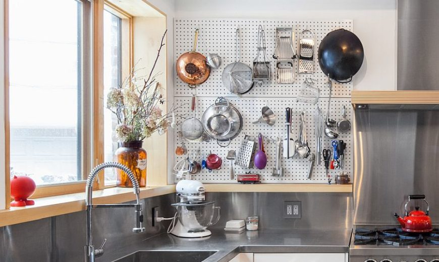 Kitchen Pegboard Ideas: Transforming Storage Options and Saving-Space!