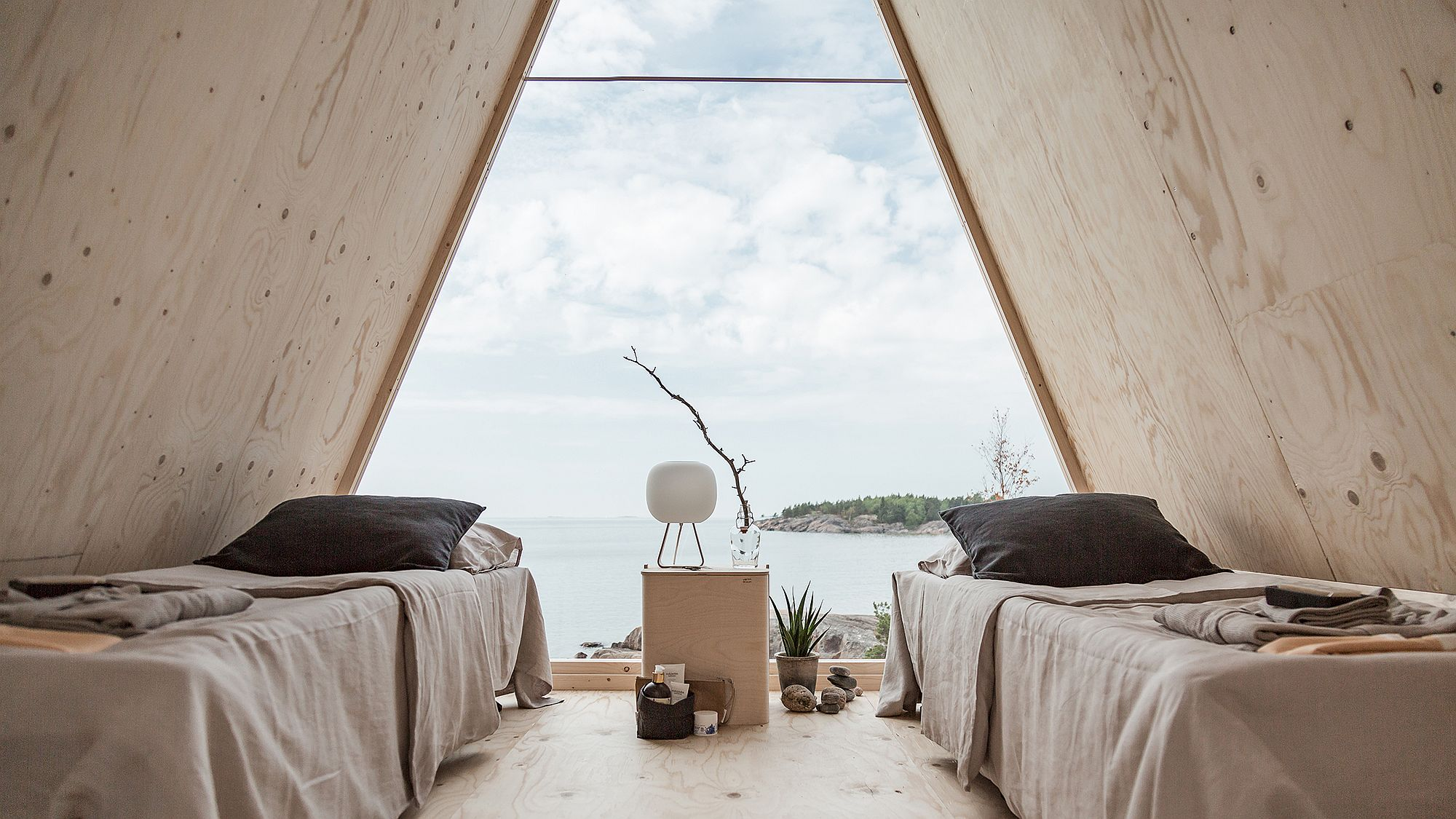 Easy-to-assemble and move, Nolla offers great off-grid living options