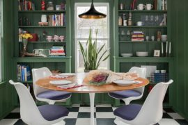 15 Dining Rooms In Trendy Green