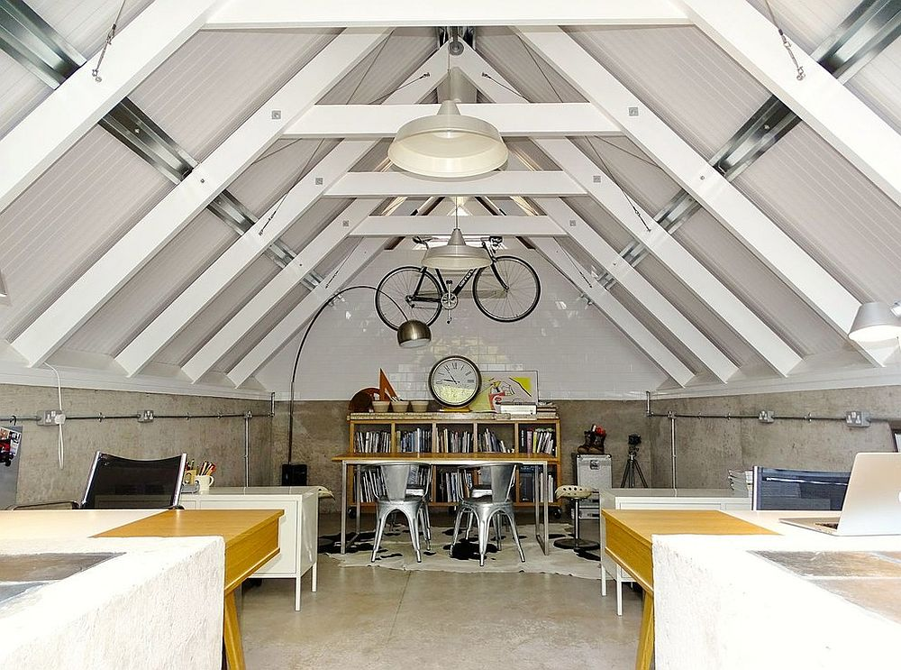 Finding space for the modern home office in the garage