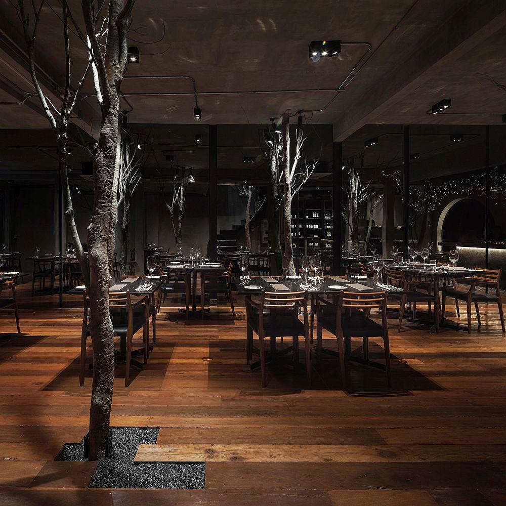 Gorgeous and innovative interior of Cuisine de Garden BKK
