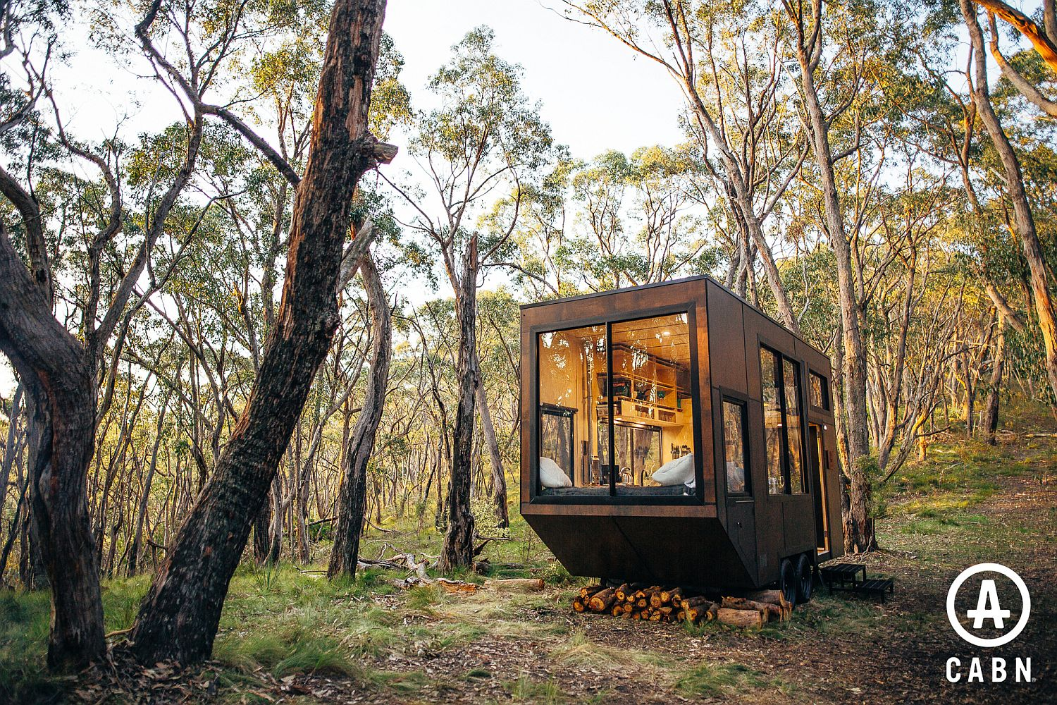 Gorgeous and planet-friendly cabin with locally sourced wood