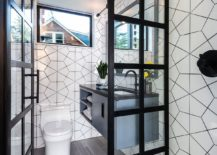 Modern-bathroom-in-blacka-nd-white-with-geo-pattern-217x155