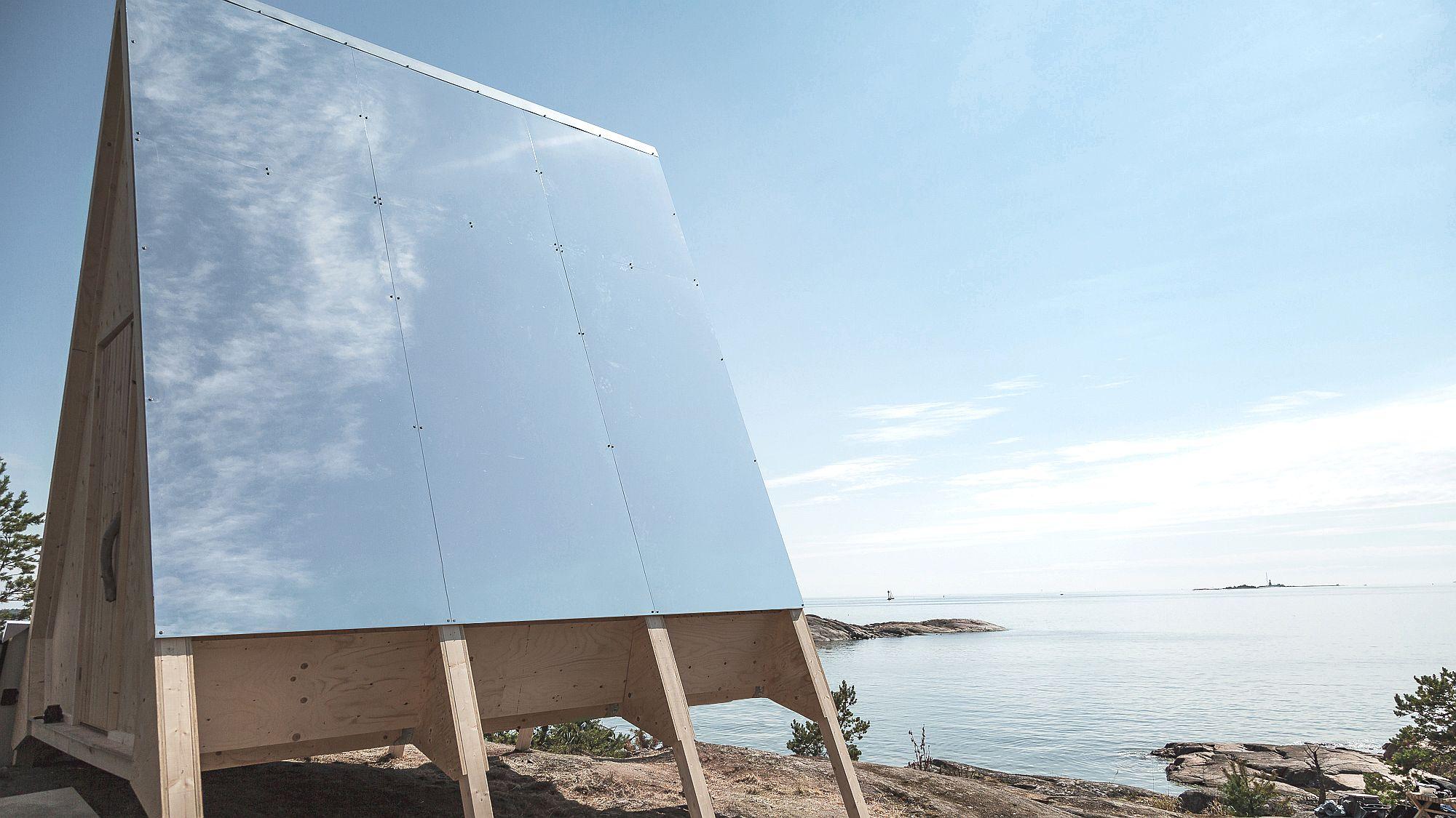 Nolla Cabin designed by Finnish designer Robin Falck