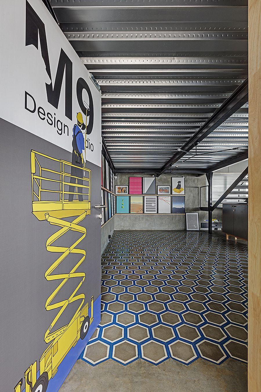 Office of M9 Design Studio in Bangalore