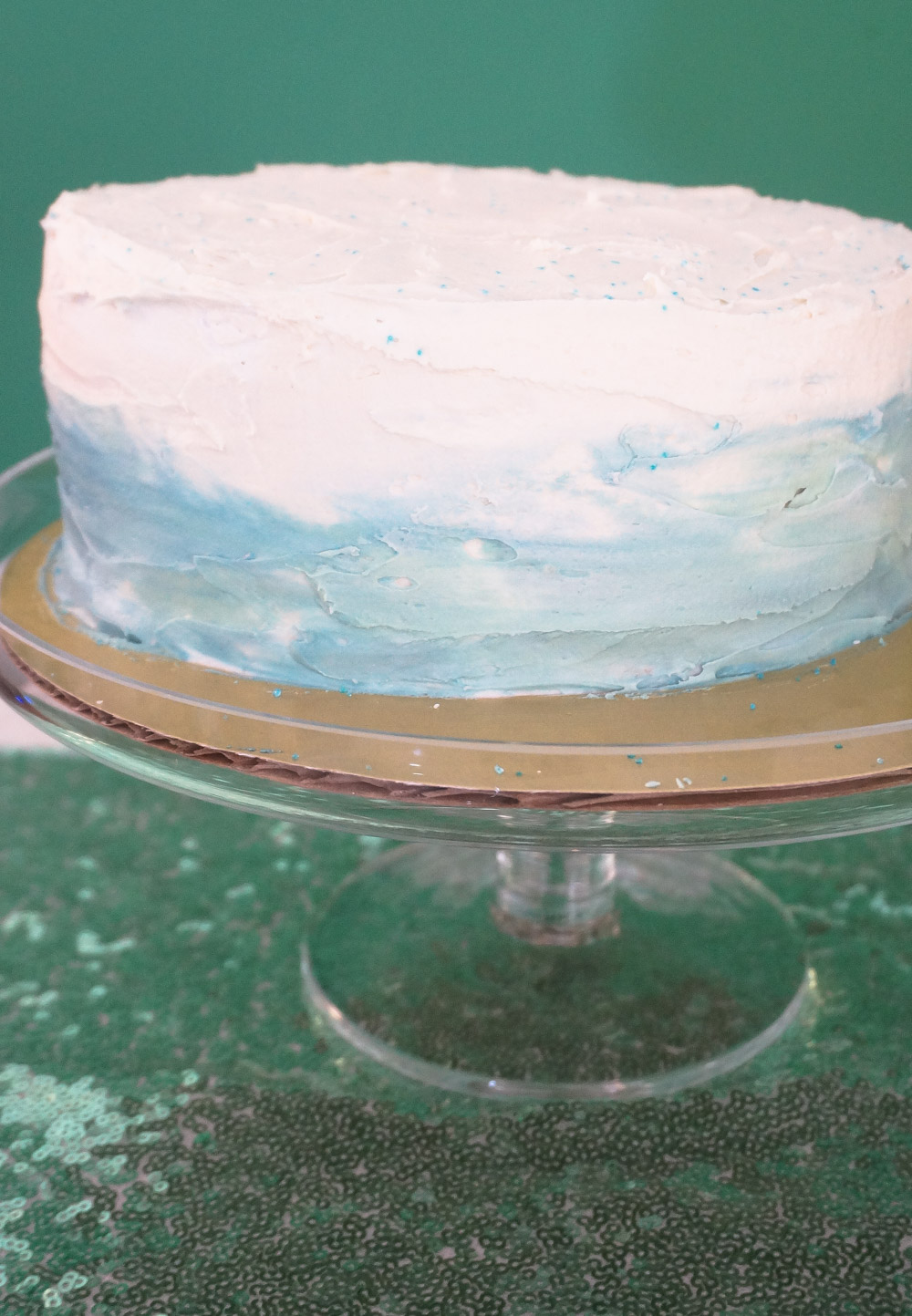 Ombre cake DIY