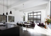 Open-plan-living-area-in-black-and-white-217x155