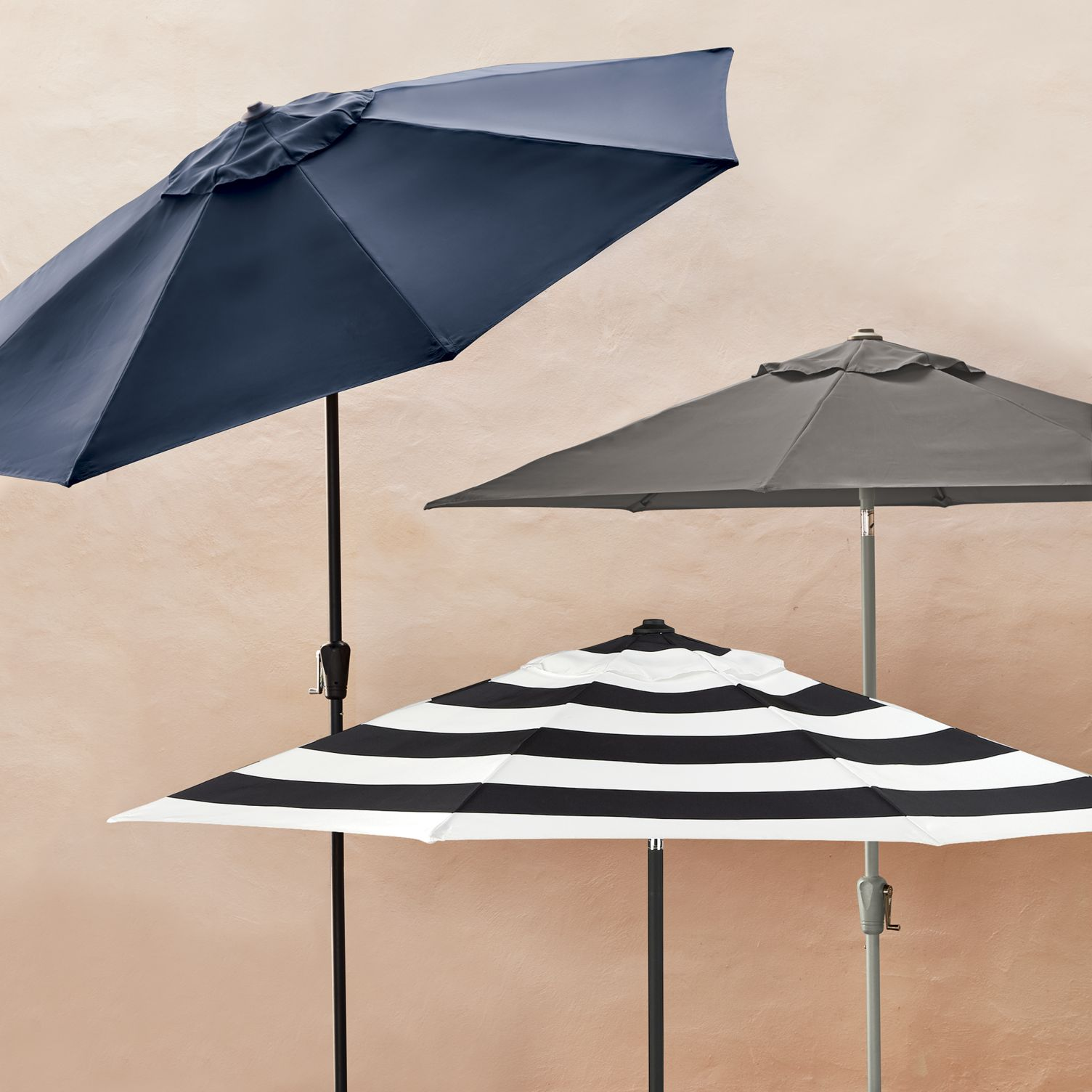 Patio umbrellas from CB2