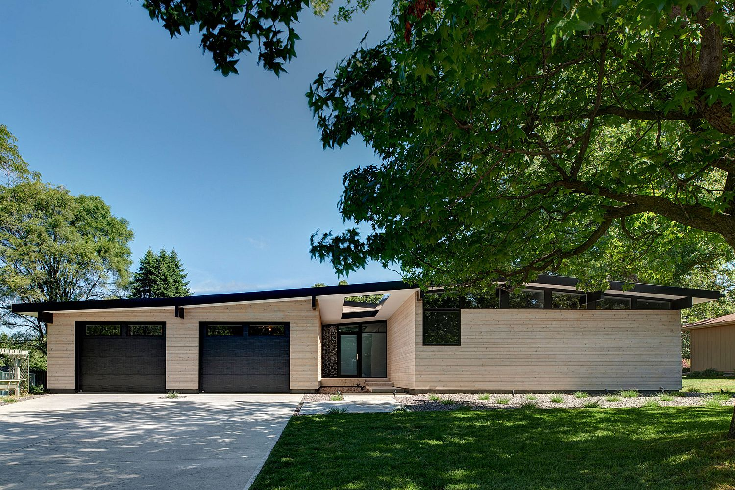 Revamped and re-imagined Iowa City home with energy-efficient design