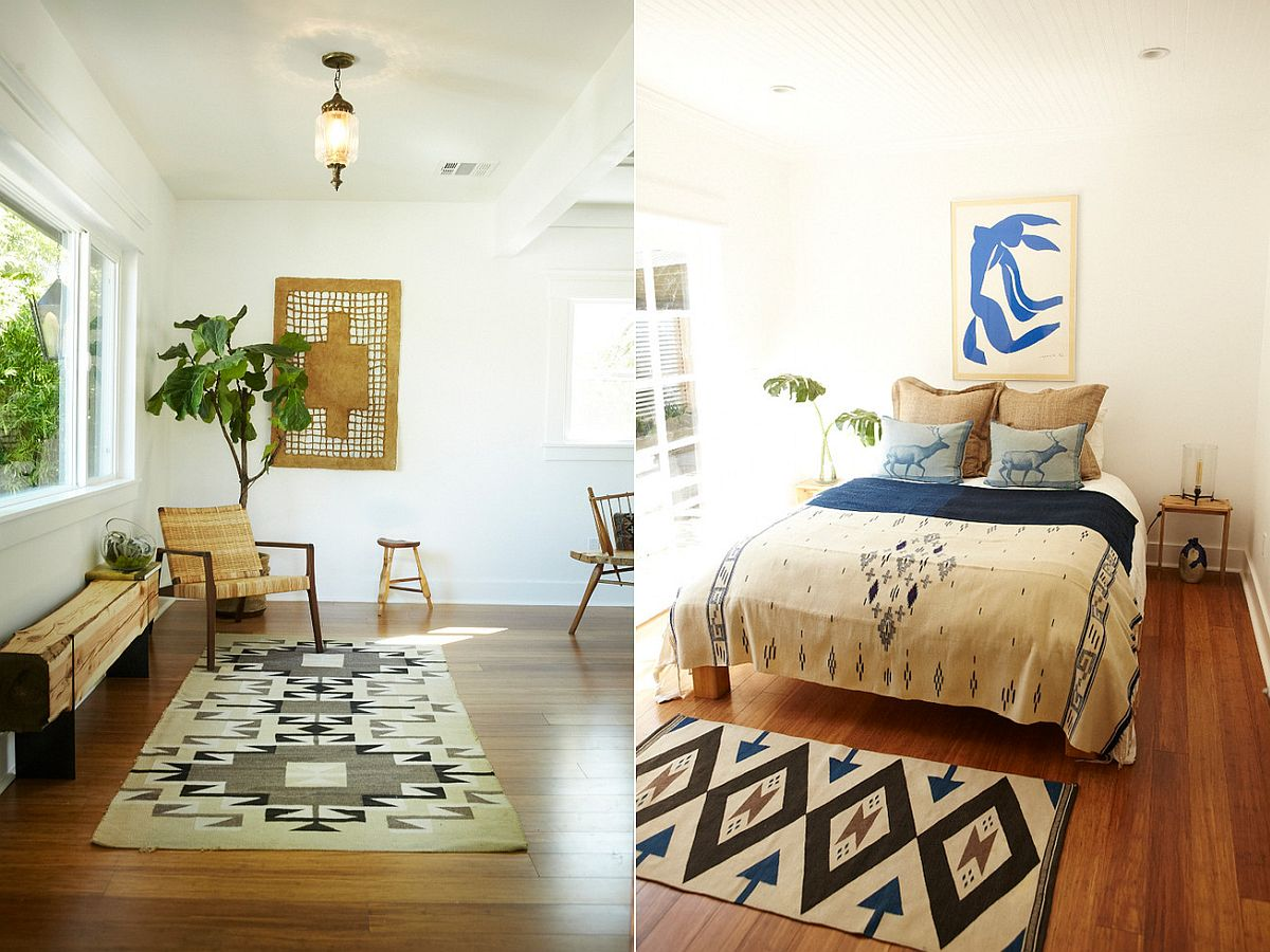 Rugs with pattern are ideal for a variety of decorating styles