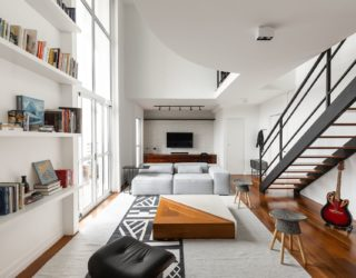 Downsizing the Toilet Transforms This Modest Sao Paulo Apartment!