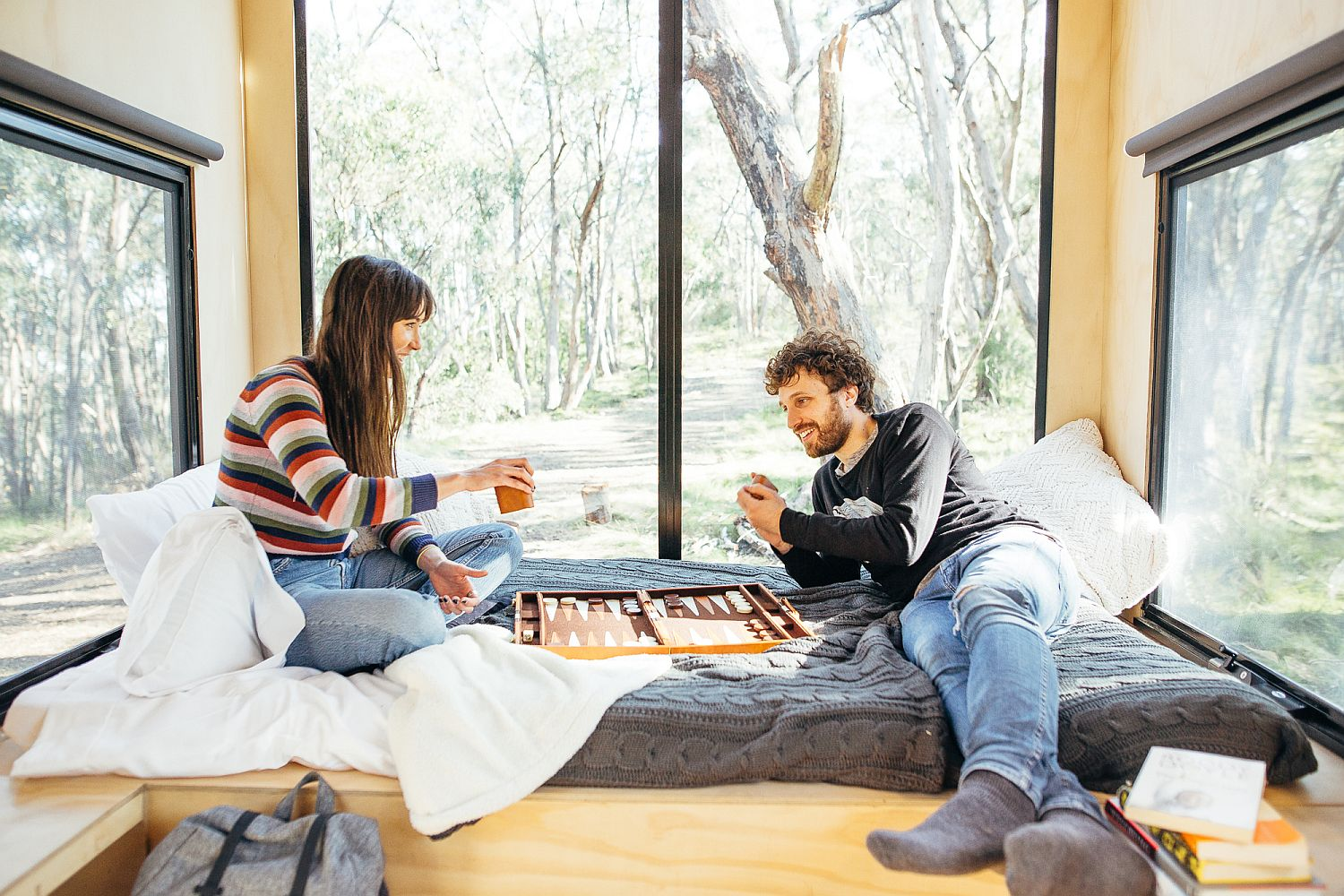 Tiny 15 sqaure meter cabin in Adelaide Hills takes you away from urban rush