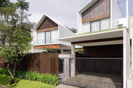 Long House: Smart Glass Enclosures coupled with Concrete and Wood