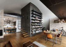 Wall-of-open-shelves-can-hold-pretty-much-anything-you-wish-to-showcase-217x155