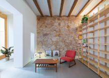 Wall-of-wooden-shelves-for-the-revamped-Barcelona-home-217x155