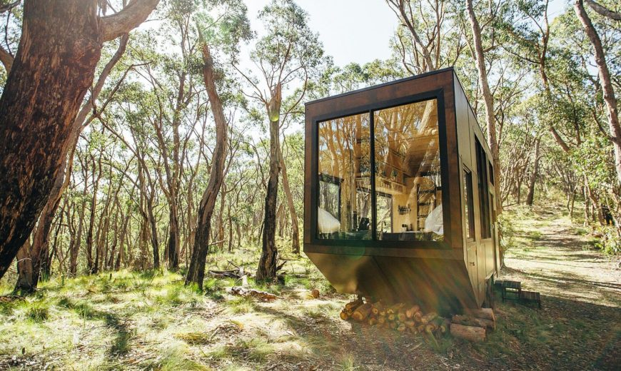 15 Sqm Australian Tiny Home Is Nature's Little Oasis