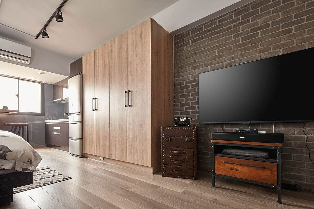 Wooden cabinets and wardrobes for the small, space-conscious apartment