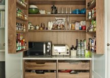 Wooden-pantry-opens-up-to-reveal-ample-storage-space-217x155