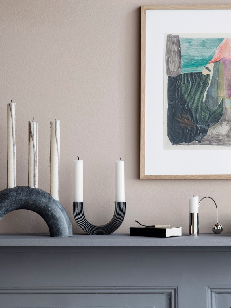 Arched candleholders from ferm LIVING