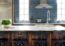 Custom-wooden-finish-for-the-kitchen-island-gives-it-that-rustic-appeal-217x155