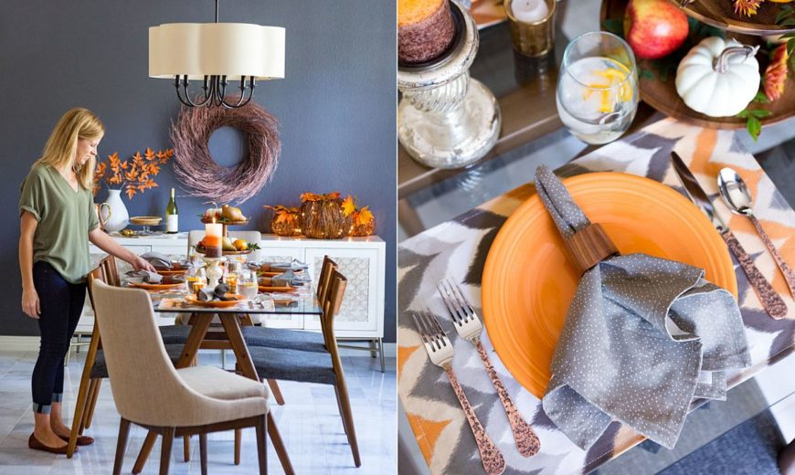 For the Perfect Host: Gorgeous Fall-Inspired Dining Room Ideas
