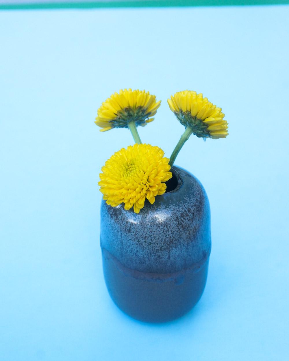 Glazed vase from CB2