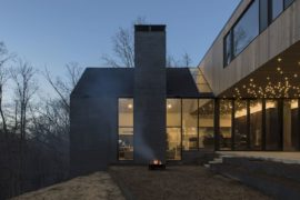 Dogwoodtrot House: Sparkling and Woodsy Modern Twist to the Vernacular