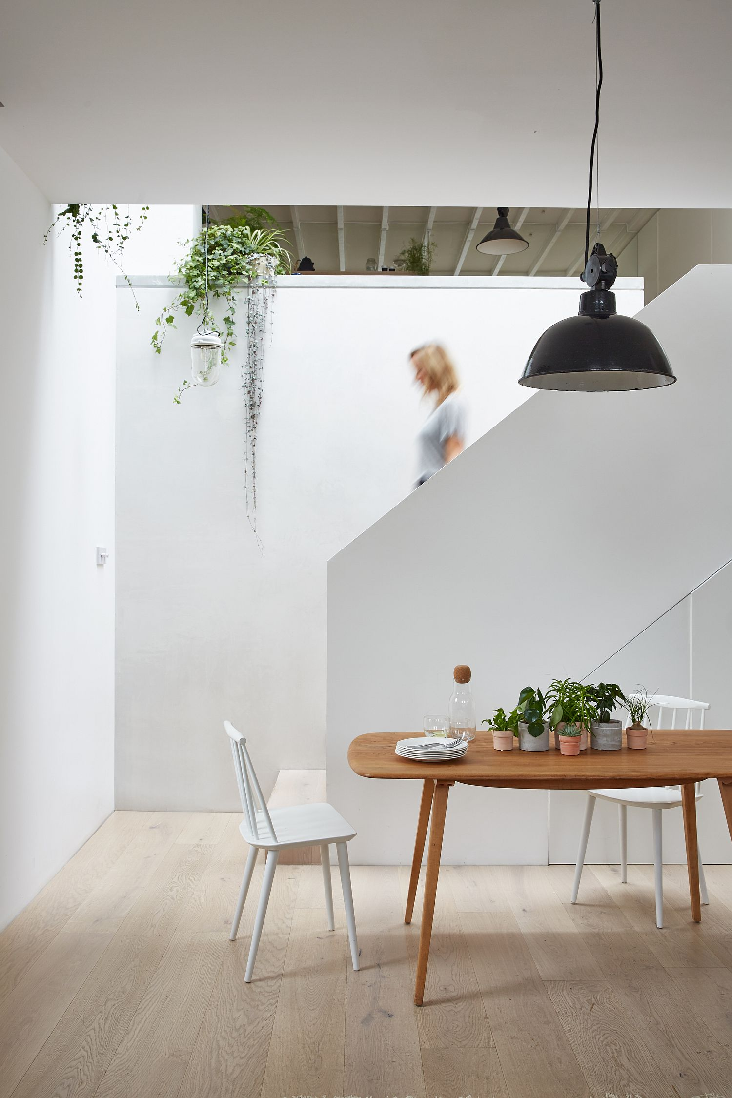 This Two Level Brick Home in London Gets a Cheerful, Modern Upgrade