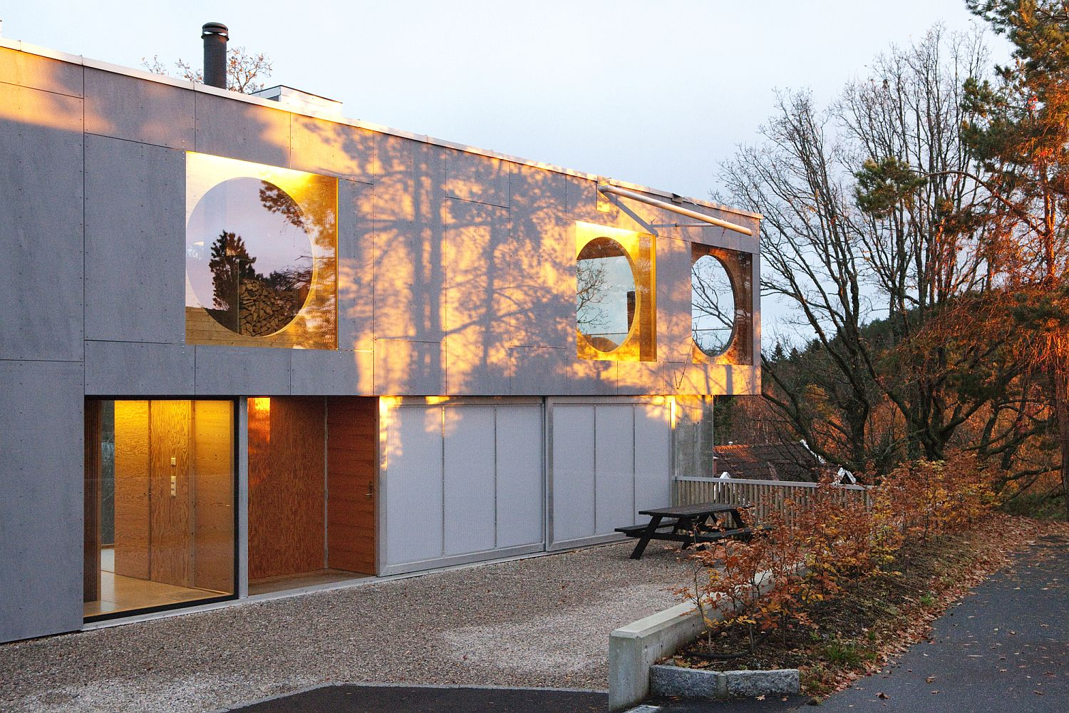 Braving the Elements: Norwegian Home with an Awesome View of Sandefjord