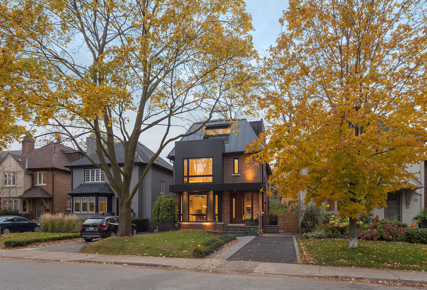 Budget Multi-Level Toronto Residence Makeover with Traditional Overtones