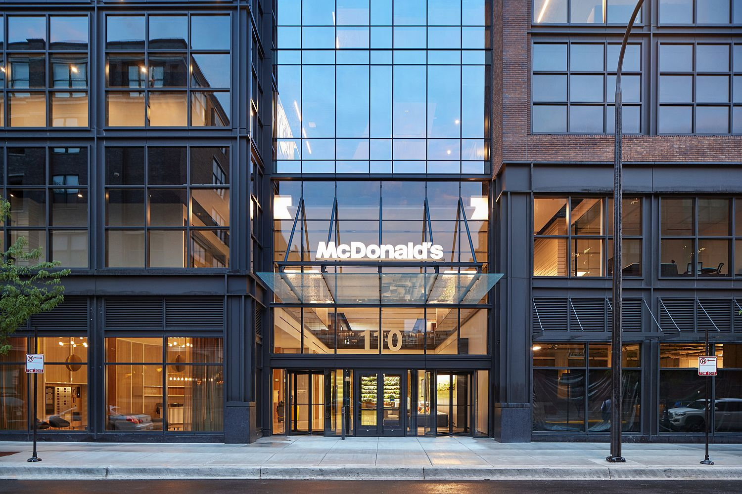 Stunning new McDonald's Global HQ building in Chicago