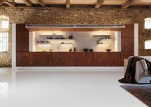Unique-kitchen-area-clad-in-corten-steel-217x155