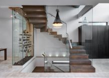 Wine-storage-and-display-area-next-to-the-staircase-217x155