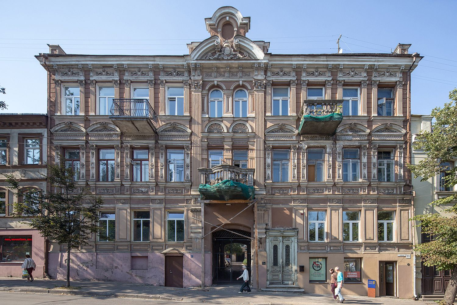 156 year old building in Lithuania with remodeled Young Family Apartment