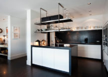 Black-backsplash-can-anchor-the-kitchen-in-white-beautifully-217x155