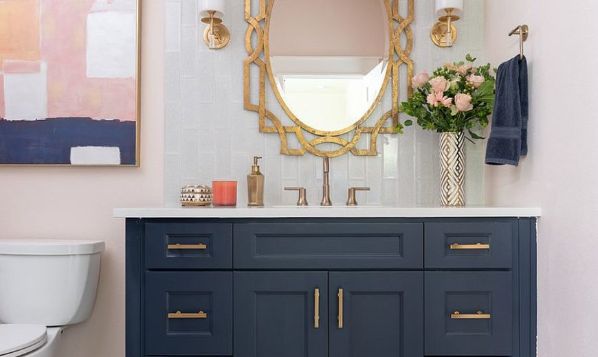 25 Trendy and Elegant Ways to Bring Color into the Neutral Bathroom