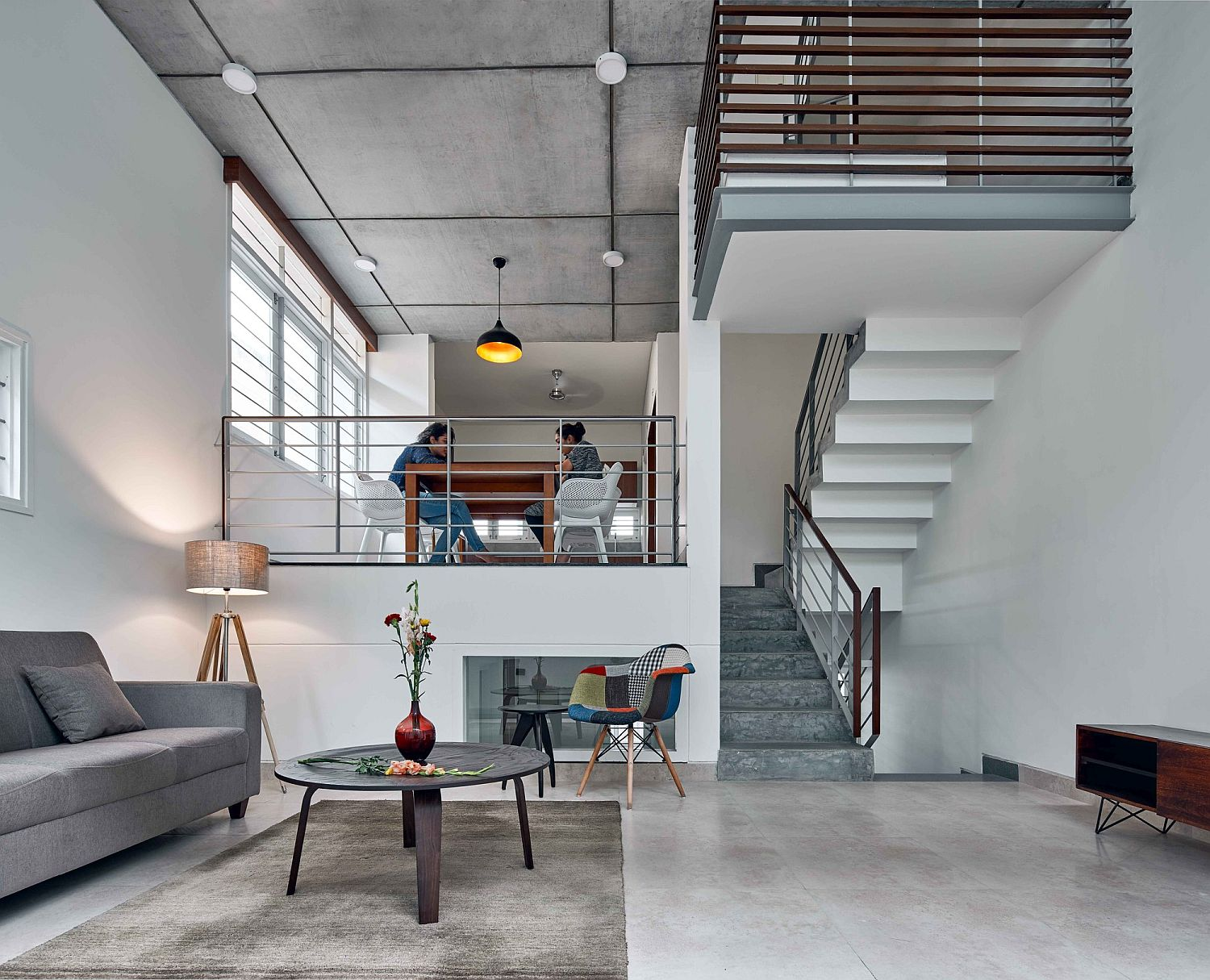 Contemporary space-savvy House S in Bangalore