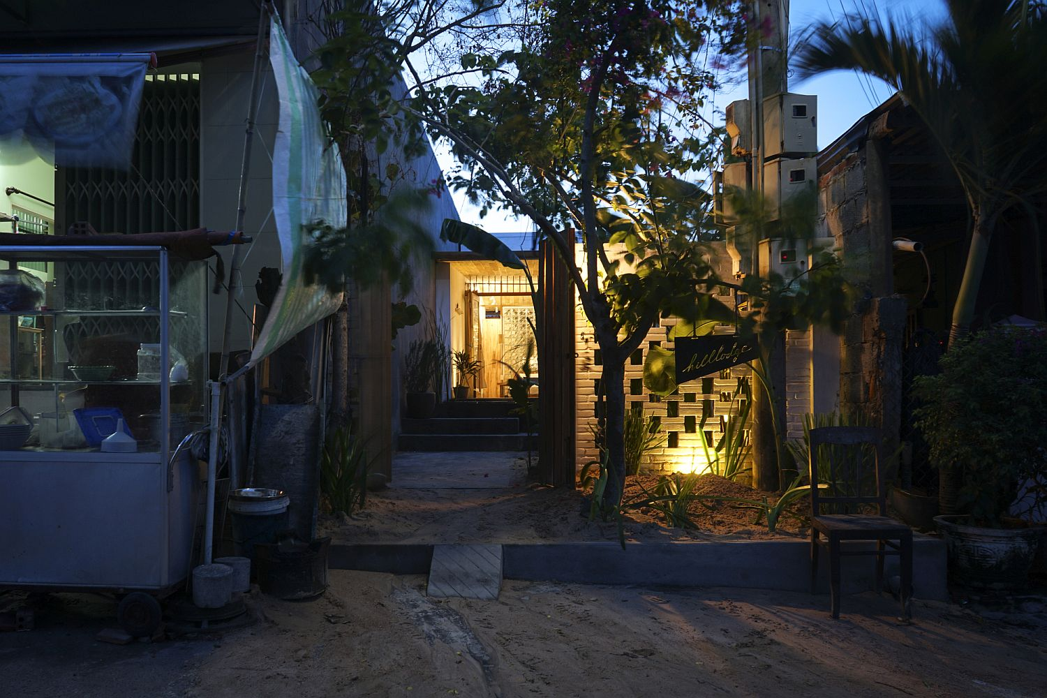 Conversion of old building in Vietnam into the lovely Hill Lodge